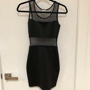 Black Mini Bodycon Dress